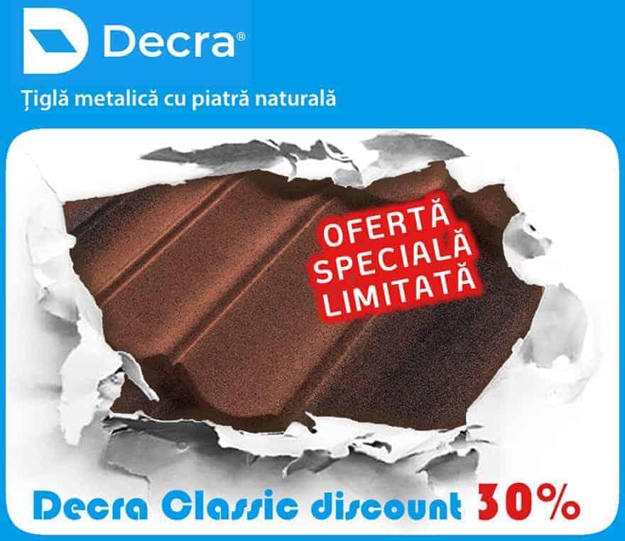 Promotie Tigla Metalica Decra Classic