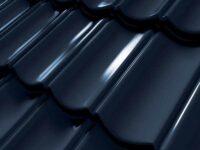 Tigla Metalica Decra Ellegance - black brilliance