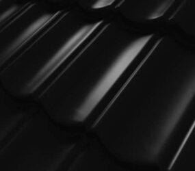 Tigla Metalica Decra Ellegance - black